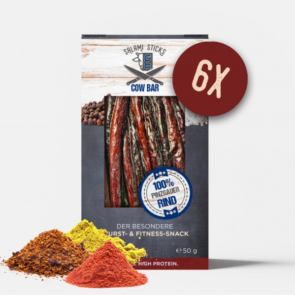 COW-BAR Salami Sticks Butcher Spice